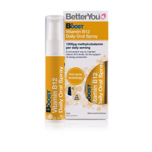 totalfortix.com BOOST B12 Oral Spray BetterYou vitamina B12 altamente absorbible Metilcobalamina